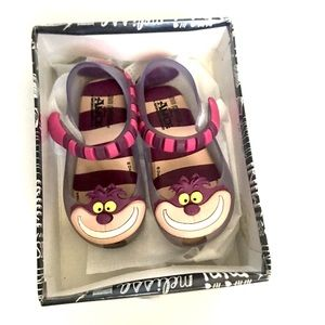 💜Cheshire Cat Mini Melissa Shoes💜